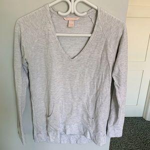 Victoria's Secret Loungewear Gray Pajama Top